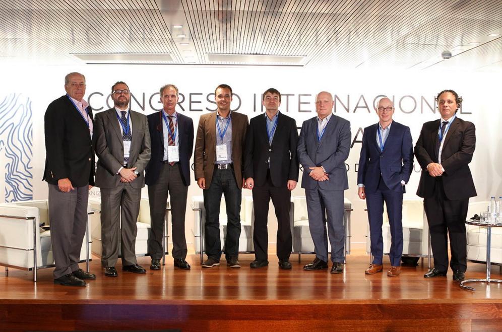 José Fernández en el I Congreso Internacional Madrid Subterra 2