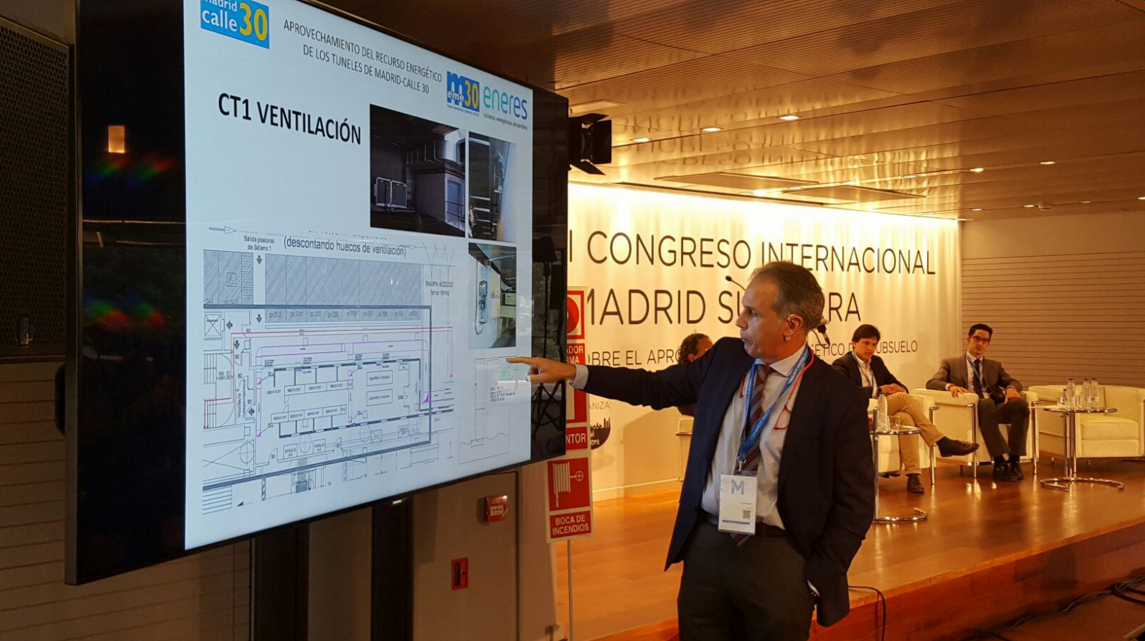 José Fernández en el I Congreso Internacional Madrid Subterra 3